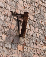 (:Linda:) Tags: brick germany town rust thuringia flagholder hildburghausen eisfelderstrase