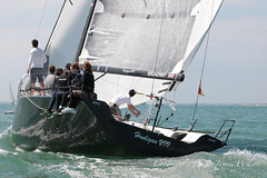 Round the Island 2014 (barryjameswilson) Tags: sailing isleofwight yachtracing thesolent roundtheisland2014