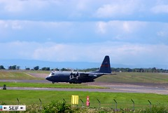 Hercules C-130H-3  USAF Prestwick airport 2014 (seifracing) Tags: rescue usa scotland illinois glasgow air guard emergency usaf spotting recovery strathclyde c130 unit ecosse 169th as seifracing serial946703