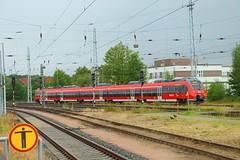 DB BR 442 der S-Bahn Rostock (Vitalis Fotopage) Tags: 2 db talent sbahn bahn et rostock deutsche 442 bombardier 1442