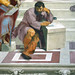 Raphael, Michelangelo as Heraclitus