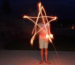 Sparkler Art 3 (JasonCameron) Tags: light cute art girl night fun fire utah kid long exposure play fireworks lol 4th july firework draw independenceday sparkler sparks