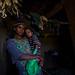 Argobba tribe woman and daughter in their house. Kouroumi village, Harar. Ethiopia