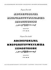 Duo licht & dunkel (Winkelhaken) Tags: duo constanze bleisatz typespecimen setzerei schriftsetzer schriftprobe gebrklingspor type:foundry=klingspor type:designer=alfredfinsterer type:face=duo