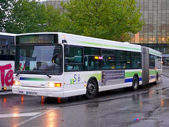 Heuliez GX417 - Sub n360 (Pi Eye) Tags: bus sub nancy autobus suburbain heuliez smts gelenk articul cugn grandnancy gx417