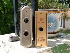 my Otis and Canton elevator buttons (DieselDucy) Tags: otis elevator gal ascensor canton elevador lyfta lyftu cantonelevator