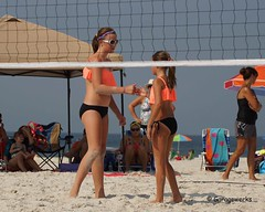 Gulf Shores Beach Volleyball Tournament (Garagewerks) Tags: woman beach girl sport female court sand all child gulf sony sigma tournament volleyball shores 50500mm views50 views100 views200 views300 views250 views150 views350 f4563 slta77v