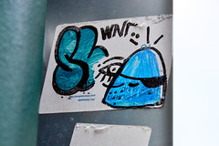 Pirate Gummy! (damonabnormal) Tags: street city urban streetart art philadelphia nikon sticker stickerart stickers streetphotography urbanart philly phl urbanphotography urbanite artinpublic phillystreetart the215 d7000 pnub