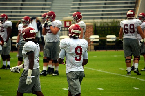 Alabama fall practice