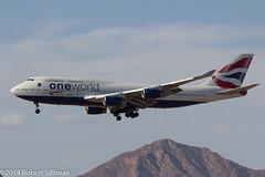 OneWorld Jumbo inbound to PHX-3062 (rob-the-org) Tags: iso100 noflash cropped boeing arrival f80 britishairways 747400 phx oneworld phoenixaz 150mm ef70300mmf456isusm kphx 1400sec skyharborinternational gcivp