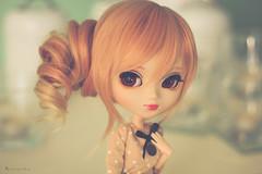 Introducing Eiko (Rinoninha) Tags: portrait licht doll retrato wig pullip eiko 27 muñeca peluca obitsu rewigged stica