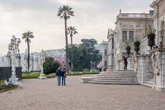 Dolmabahçe Palace (allyearround) Tags: city turkey sightseeing istanbul palace sultan bosphorus dolmabahçe