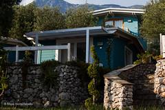 Drymades inn (filipe mota rebelo | 400.000 views! thank you) Tags: blue vacation house mountain beach canon hotel lodge balkans albania 2014 balcans fmr dhermi drymades 5dmarkii filipemotarebelo