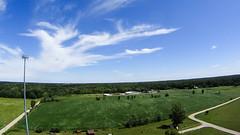 KAP above Mills Township (hz536n/George Thomas) Tags: summer sky copyright kite michigan sony prism august aerial kap upnorth smrgsbord 2014 deltakite ogemawcounty skidway newmanpark hdras30v