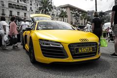 #IAMTHEMOSTWANTED (Julian L...) Tags: paris yellow matt de hotel am cafe place fake plate run casino monaco mat most gelb lions wanted audi supercar v10 faint supercars r8 2014