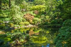 Japanese Garden (Me in ME) Tags: oregon portland japanesegarden washingtonpark upperpool