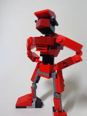 Redbot (Johann Dakitsch) Tags: robot lego system mech moc