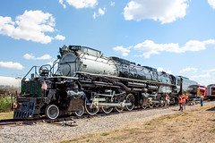 Special Delivery (Jordan Hood) Tags: railroad up museum texas unionpacific bnsf bigboy steamengine frisco streamliner alco motar 4884