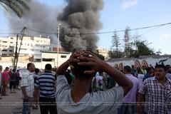 #GazaUnderAttack (#GazaUnderAttack) Tags: air wounded strike killed paramedics israeli journalist pse gazastrip palestinian gazacity palestinianterritory shejaiya ramirayan