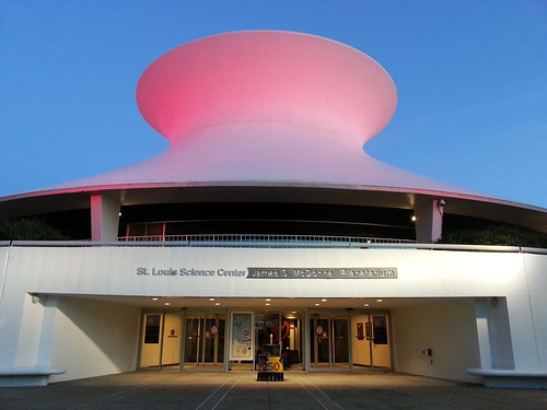 James S. McDonnell Planetarium in Forest Park - St. Louis, MO_20140624_204256