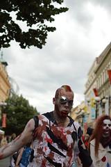stepped over (Gveronis) Tags: show dead prague zombie walk praha horror zombiewalk