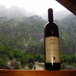 "Montenegrin Wine on Albanian Balcony <a style=""margin-left:10px; font-size:0.8em;"" href=""http://www.flickr.com/photos/14315427@N00/14867029331/"" target=""_blank"">@flickr</a>"