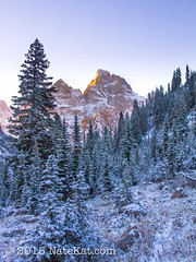 20130919-IMG_8627.jpg (NateKat Photography) Tags: trees snow sunrise backpacking wyoming grandtetonnationalpark snowcappedmountains tetoncresttrail canon7d