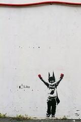 Like (motveggen) Tags: streetart stencil like batman bergen møhlenpris gatekunst stensil sjablong streetartbergen lynvingen
