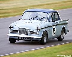 1959 Sunbeam Rapier (autoidiodyssey) Tags: england cars race vintage sussex sunbeam rapier 1959 chichester goodwoodrevival stmarystrophy derekdaly 2012goodwoodrevival