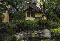 """The Spadena """"Witch's"""" House in Beverly Hills (DRUified) Tags: california usa fullmoon beverlyhills thewitchshouse thespadenahouse rebeccadruphotography storybookhouseinbeverlyhills designedbyhollywoodartdirectorharryoliver witchshouseinbeverlyhills"""