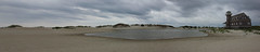 (Lady.in.Black) Tags: beach sand waves cloudy northcarolina outerbanks obx panarama rodanthe roughwaves