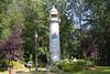 Soulanges Canal Upper Entrance Range Rear Lighthouse, Quebec (lighthouser) Tags: lighthouse canada canal quebec soulanges lighthousetrek upperentrancerangerear