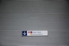 Gare de l Ouest (3) (lalulicha) Tags: travel light brussels sign de reisen traffic gare metro transport bruxelles rail direction schild ubahn l brssel ouest