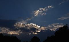~ evening sky ~ (Lisa Holder NC) Tags: light sunset sky nature clouds evening rays