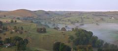 In the beginning (Andrew Mowbray) Tags: autumn mist peakdistrict meadows nationaltrust peakdistrictnationalpark riverdove derbyshirestaffordshireborder beresforddale wolfscotehill