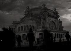 Phantoms (Deathbyhugs) Tags: city people abandoned seaside europe casino creepy romania boardwalk constanta