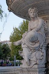 Fontanna na Placu Erzsébet | Erzsébet Square fountain