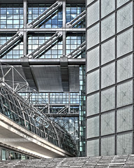 Untitled #8 (Different≠Same) Tags: berlin architecture hauptbahnhof steel frames glass structure