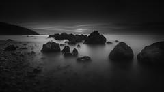 Lost world (João Cruz Santos) Tags: seascape waterscape longexposure blackandwhite bw setúbal portugal portinhodaarrábida a7