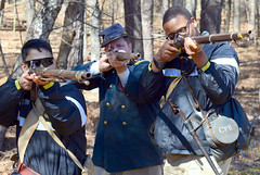 Ready...Aim...FIRE! (Georgia National Guard) Tags: staffride americancivilwar militaryhistory armyhistoryocs officertraining nationalguardimages georgiahistory gmi kennesawmountain