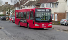The New Operator (M C Smith) Tags: bus route 379 pentax kp suburbia road residential trees cars parking houses