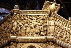 Siena, Duomo Santa Maria Assunta, Kanzel von Nicolo und Giovanni Pisano, Kreuzigung (pulpit crucifixion) (HEN-Magonza) Tags: italien italy italia tuscany siena toscana pulpit crucifixion toskana kanzel piazzadelduomo giovannipisano kreuzigung duomosantamariaassunta nicolopisano