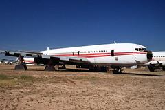 Ex-TWA 707-331B, N760TW (Ian E. Abbott) Tags: aircraft jet boeing 500views 707 boneyard twa airliner boeing707 davismonthan amarc davismonthanafb jetairliner 18913 transworldairlines masdc lostwings amarg derelictaircraft n760tw aircraftstorage 707331b desertboneyard aircraftscrapping cn18913