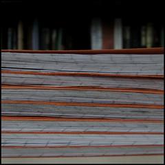 exercise books awaiting marking (Philip Watson) Tags: school books teaching marking exercisebooks