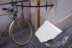 .. (lux fecit) Tags: white paris bike corner