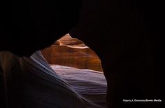 Upper Antelope Canyon - Nice Outside View (Bower Media) Tags: arizona sandstone paige tarantula page navajo slotcanyon shart lightbeam larrydonoso bowermedia larryadonoso opaquelightbeam