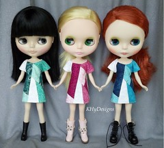 Finally ready in teal, turquoise, and pink