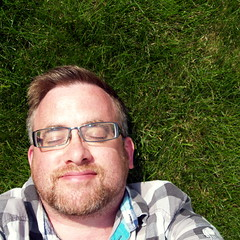 52-to-40 #38 (Willster K) Tags: portrait selfportrait green me smile grass self myself sunny ishotmyself
