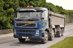 Volvo FM T.W&E.J Gratton Cowdale Derbyshire (SJS Truck & Transport Photography.) Tags: volvo derbyshire limestone aggregates rigids