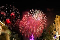 Magic Kingdom Fireworks (Dreamfinder Photography) Tags: travel holiday orlando florida fireworks disney resort disneyworld wdw waltdisneyworld independenceday mk magickingdom